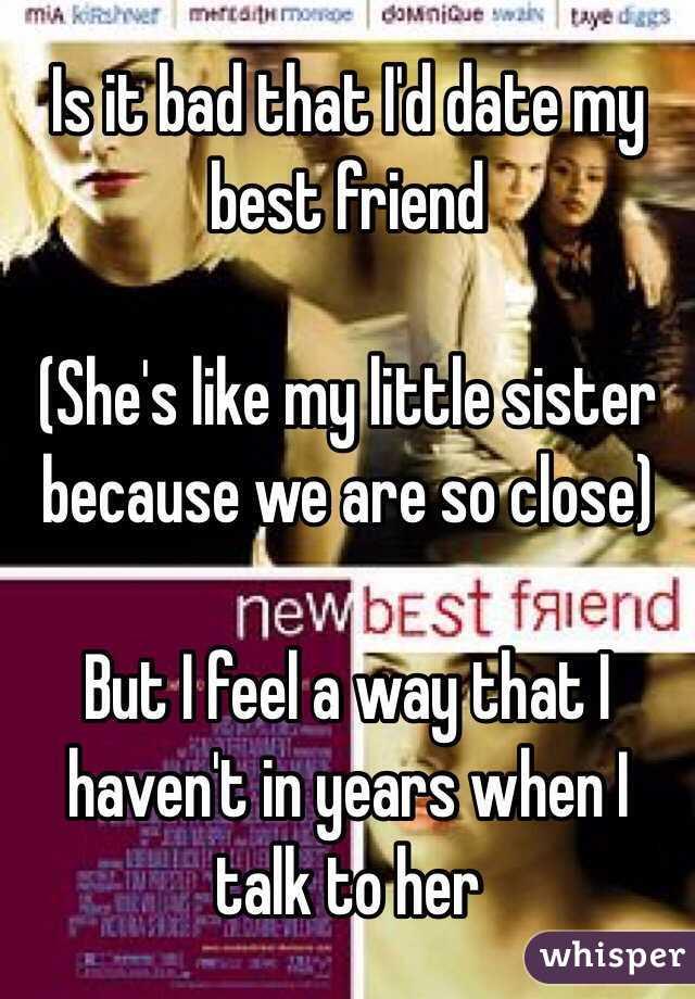 Friend Dating Little Sister