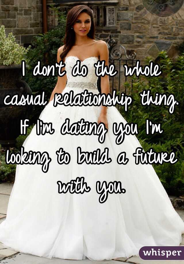 Looking for casual relationship