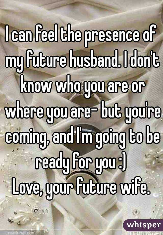 know my future husband