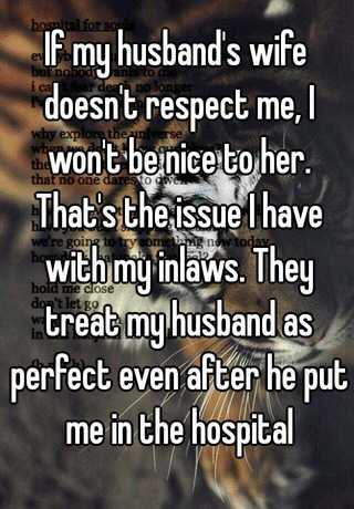 my wife doesn t respect me
