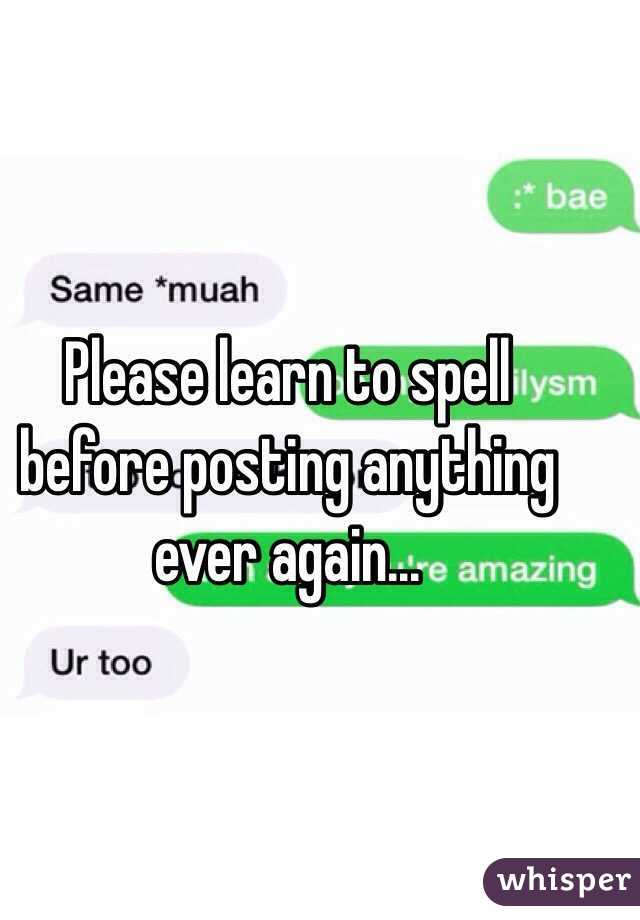 How to spell muah