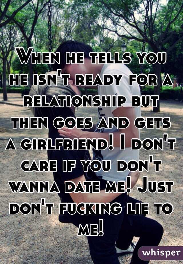 For Relationship Dating Someone A Isnt Who Ready