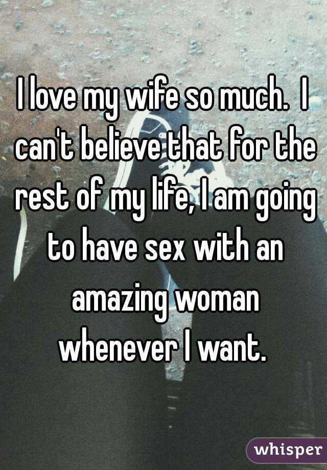 How to live with a wife who wont have sex
