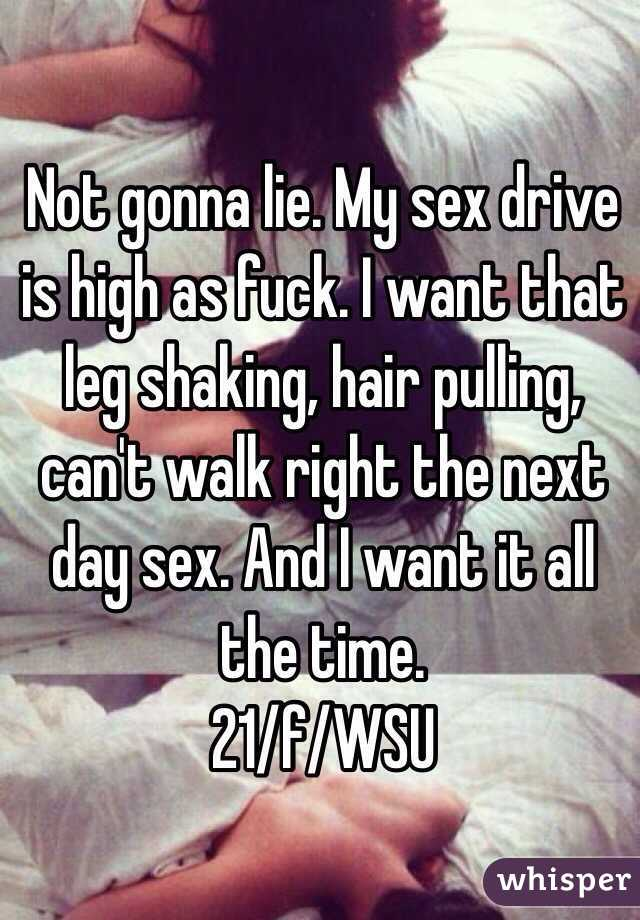She wants sex morning day and night
