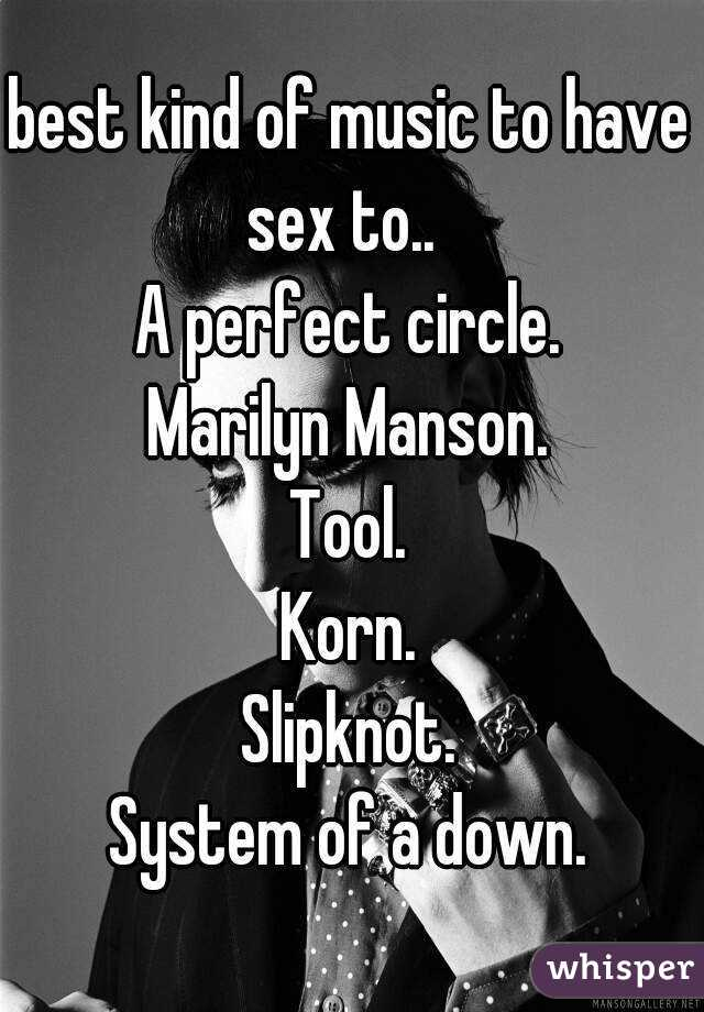 Music to have sex by