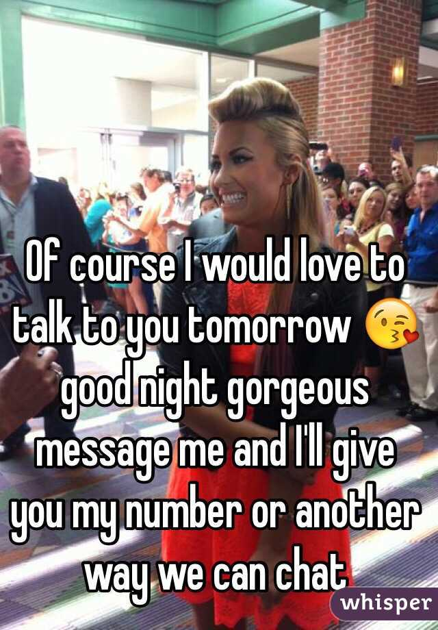 Night chat number
