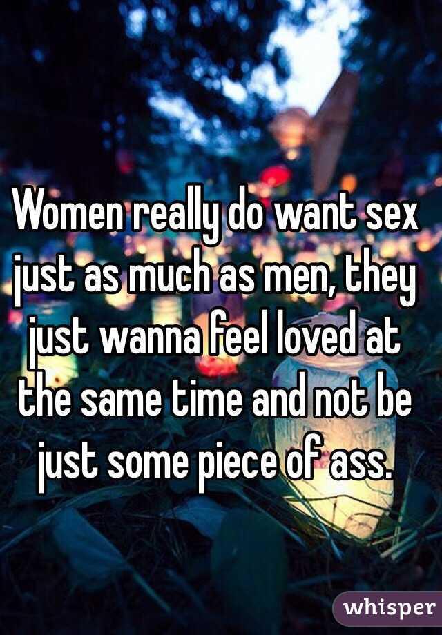 do women enjoy sex as much as men