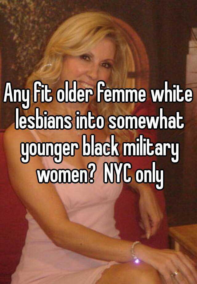 Older women lesbian girl