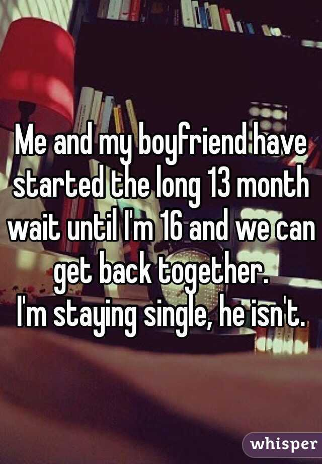 im 16 and single