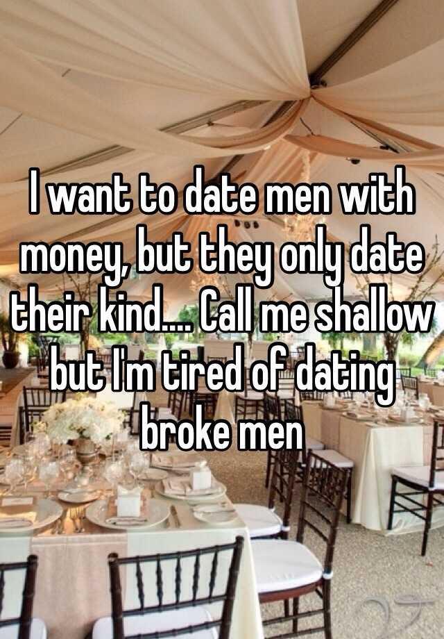 date men for money