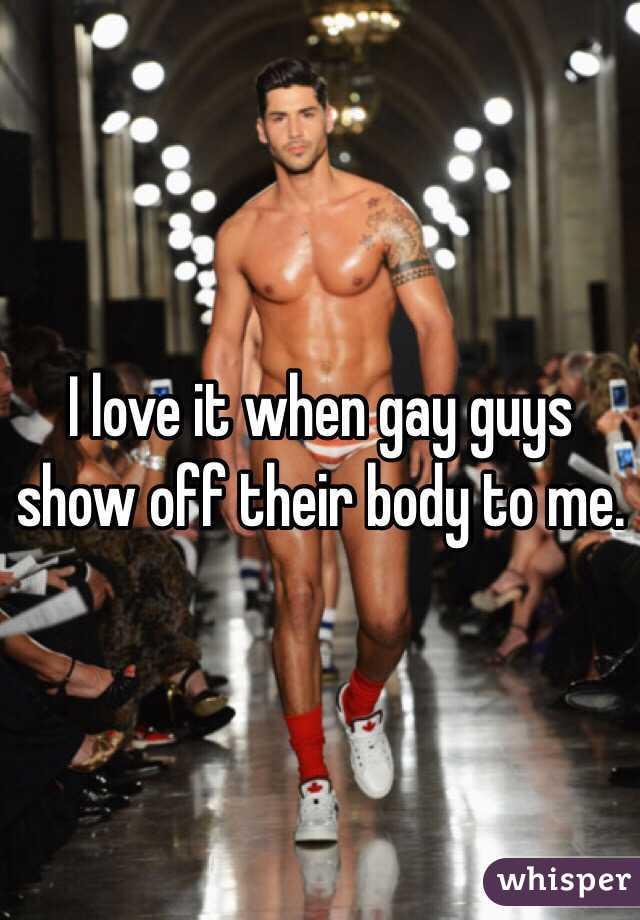 Gay guys off