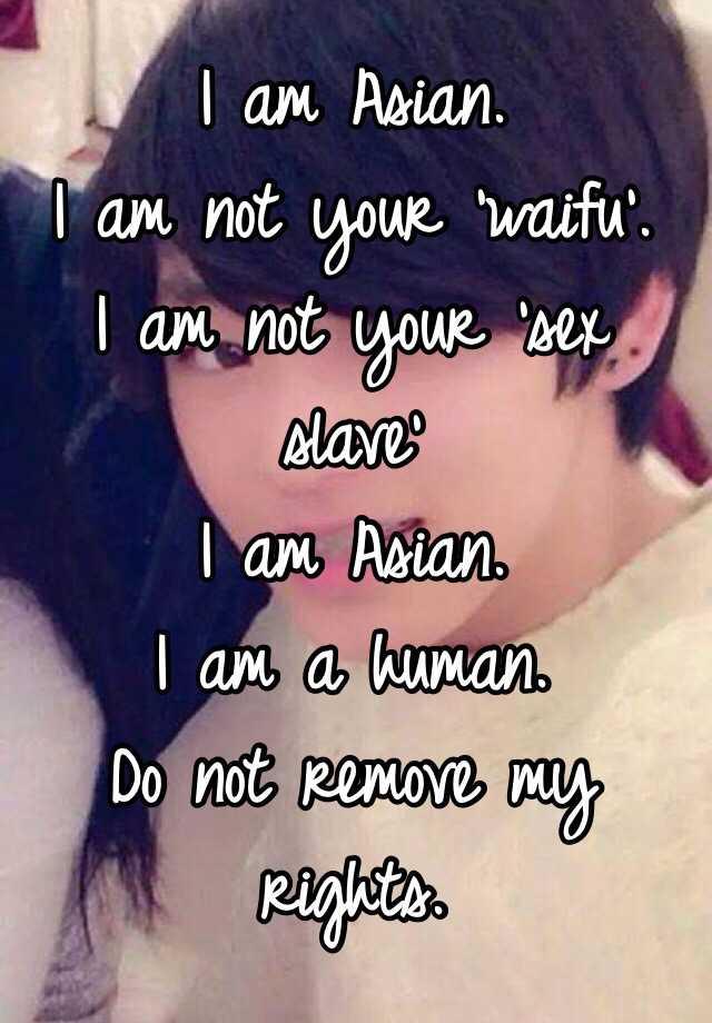 captions slave Asian sex