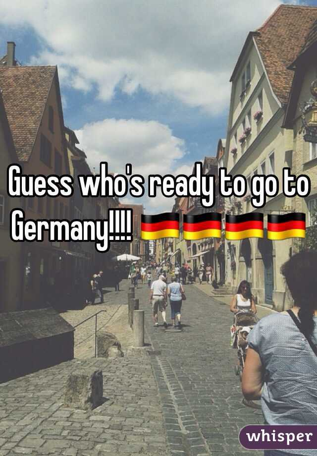Guess who's ready to go to Germany!!!! 🇩🇪🇩🇪🇩🇪🇩🇪