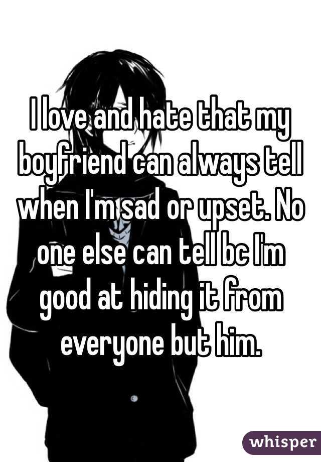 Why am i always annoyed with my boyfriend
