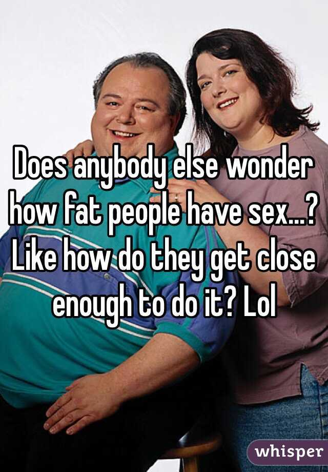 How fat people have sex photo 53