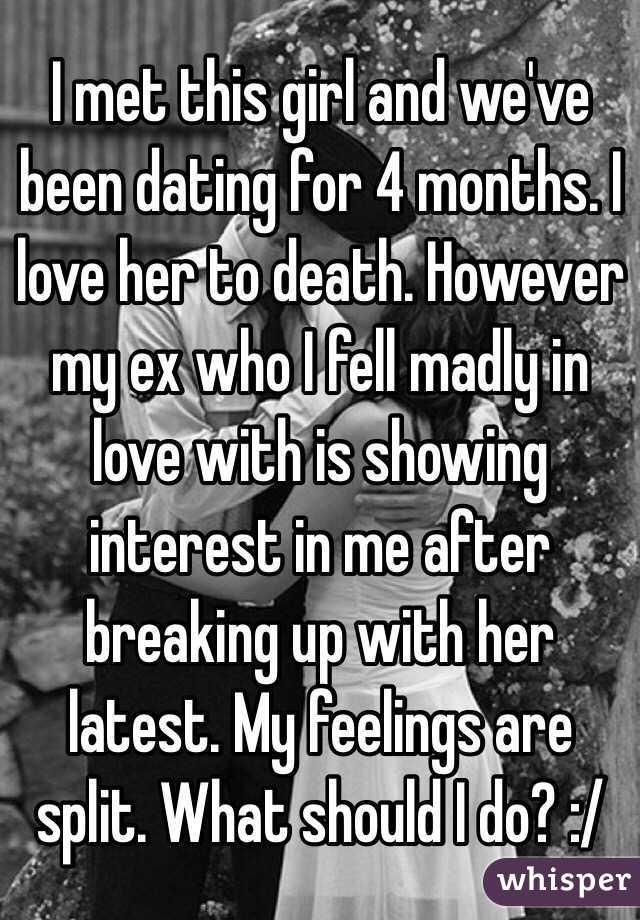 Break Up After Dating 4 Months
