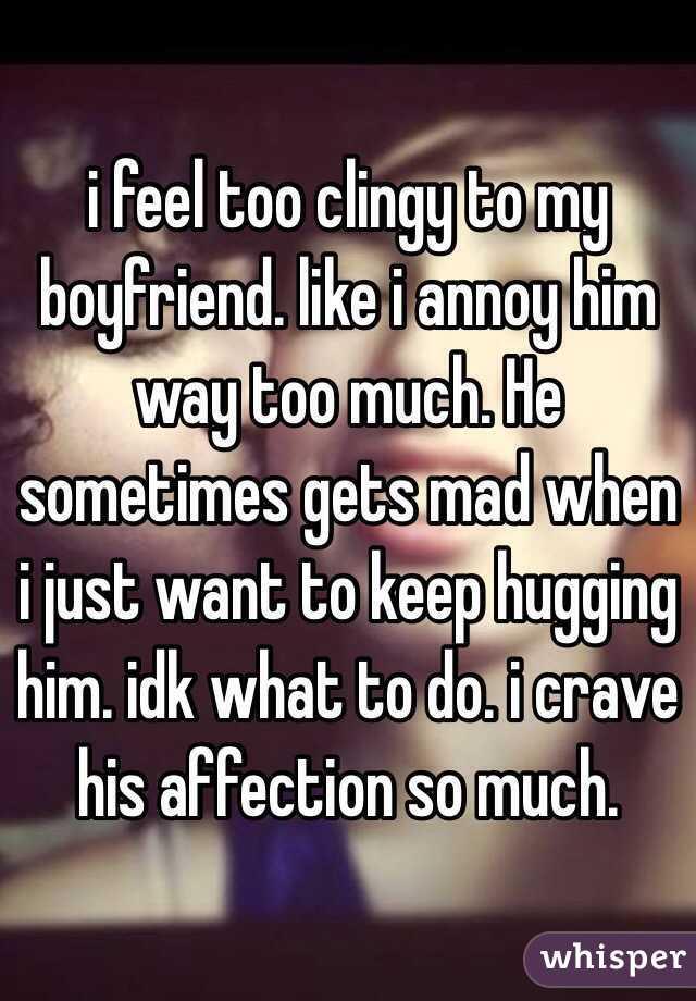 i annoy my boyfriend