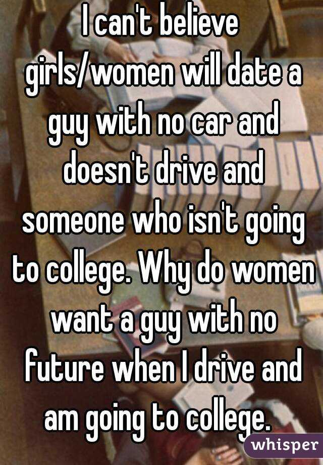 Dating A Lampoon Who Doesn T Drive