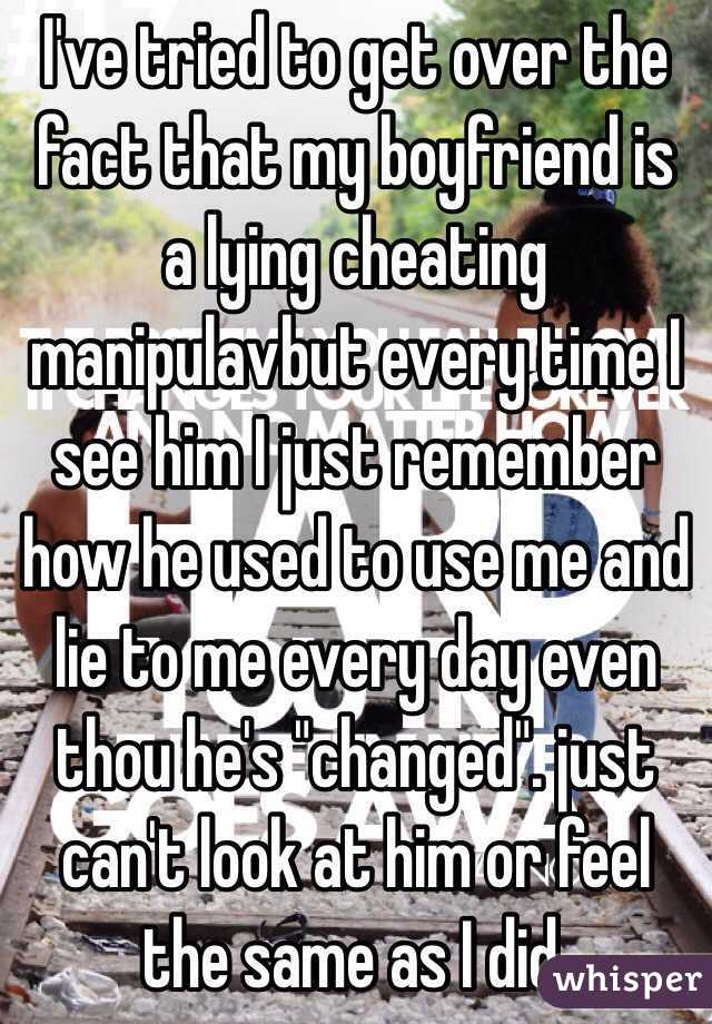How to get over a cheater