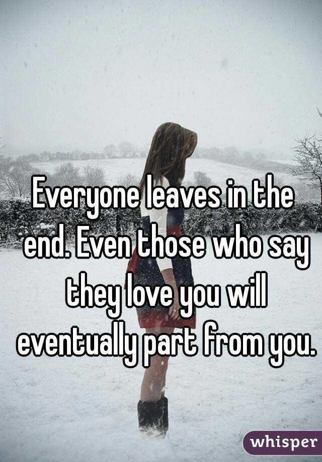 i feel lonely when my boyfriend leaves