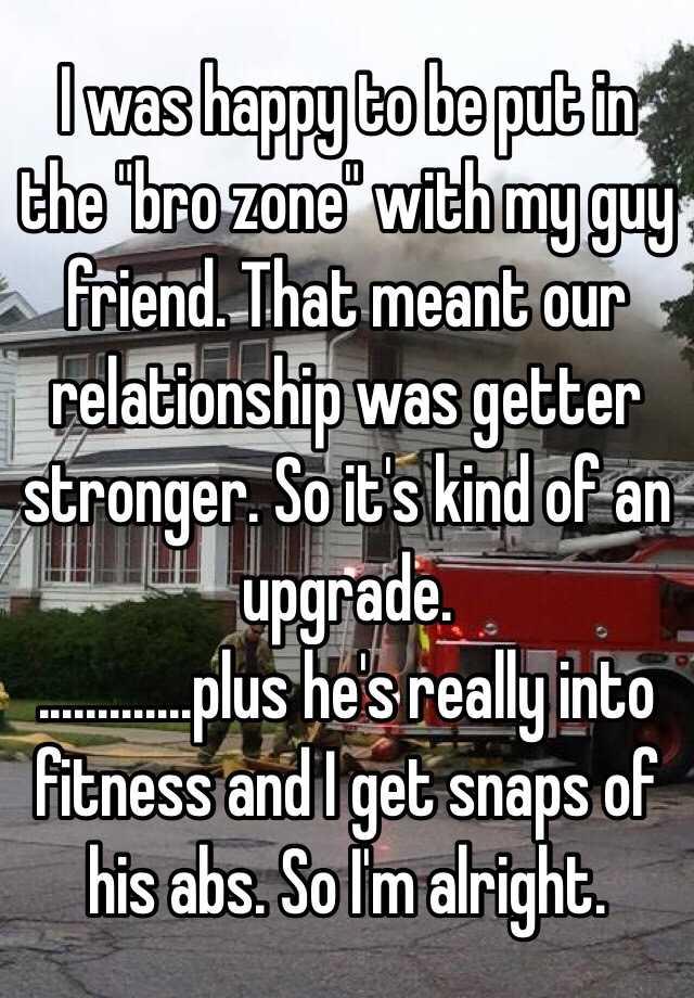 The bro snaps