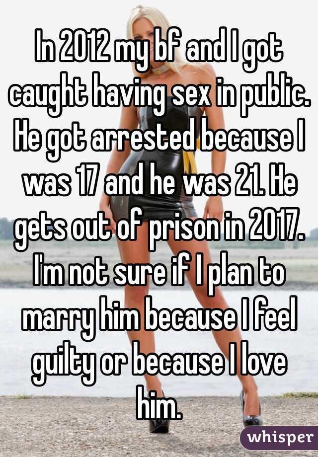 I got caught having sex