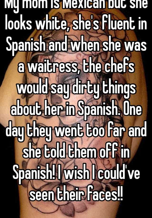 How to say she went in spanish