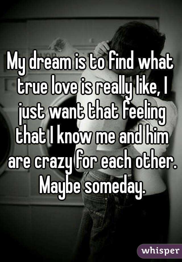 I want to find real love