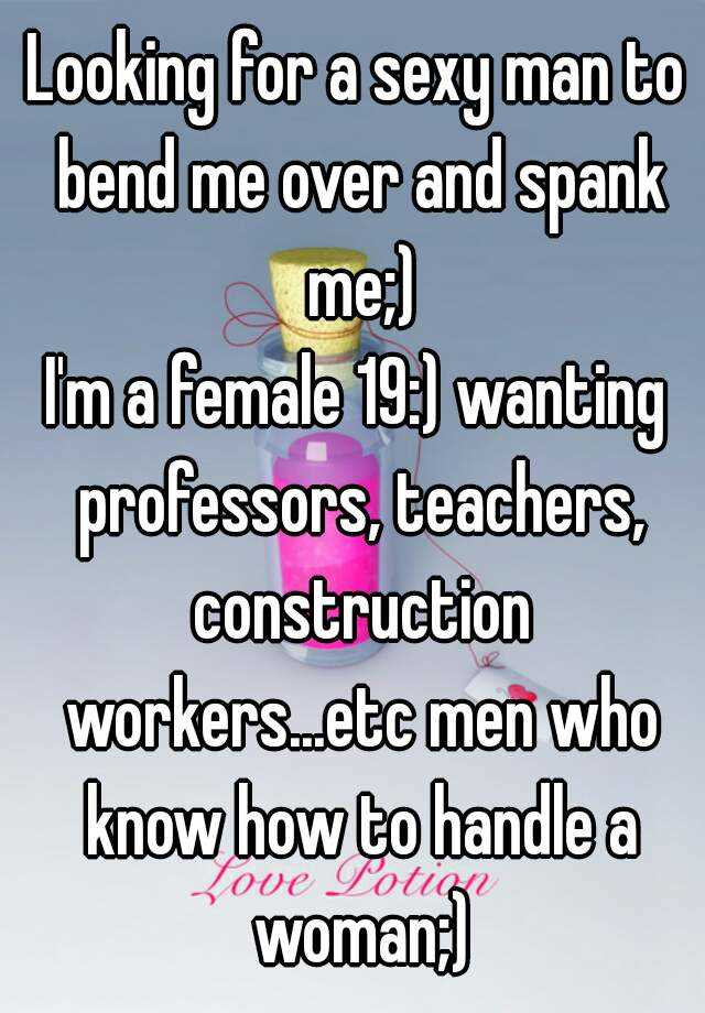 Professors that spank