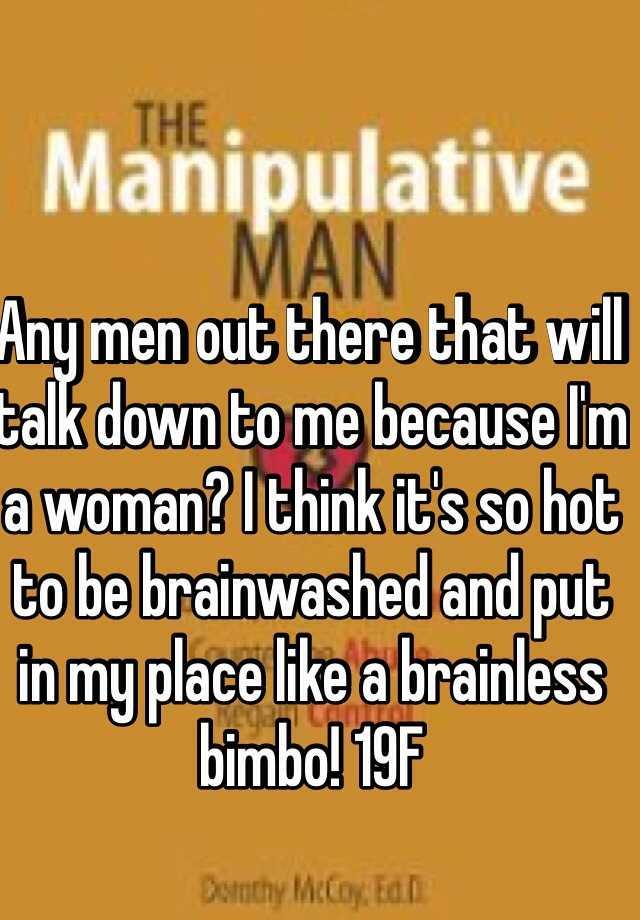 Down Men To Do Talk Women Why