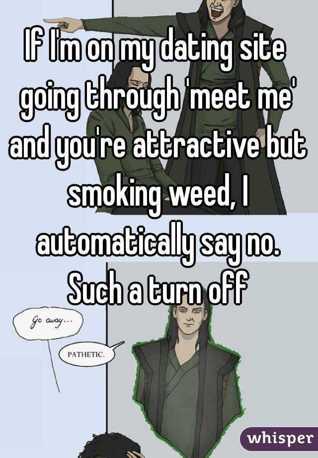 Dating is like smoking