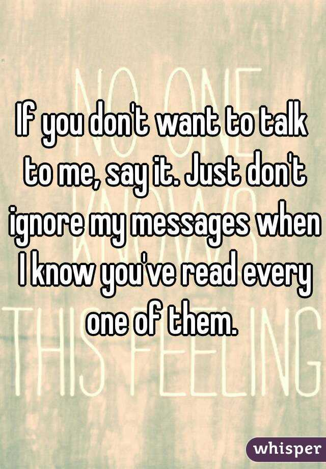 i want to see my messages