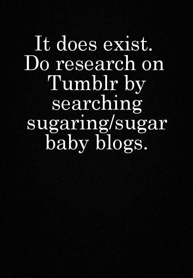 sugar baby tumblr blogs
