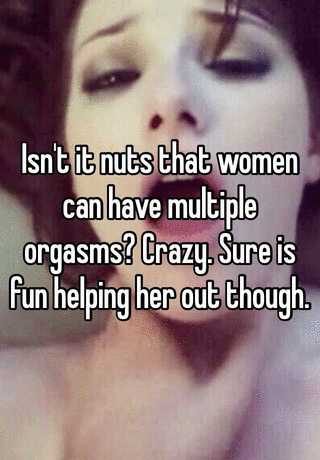 Multiple orgasms to get How