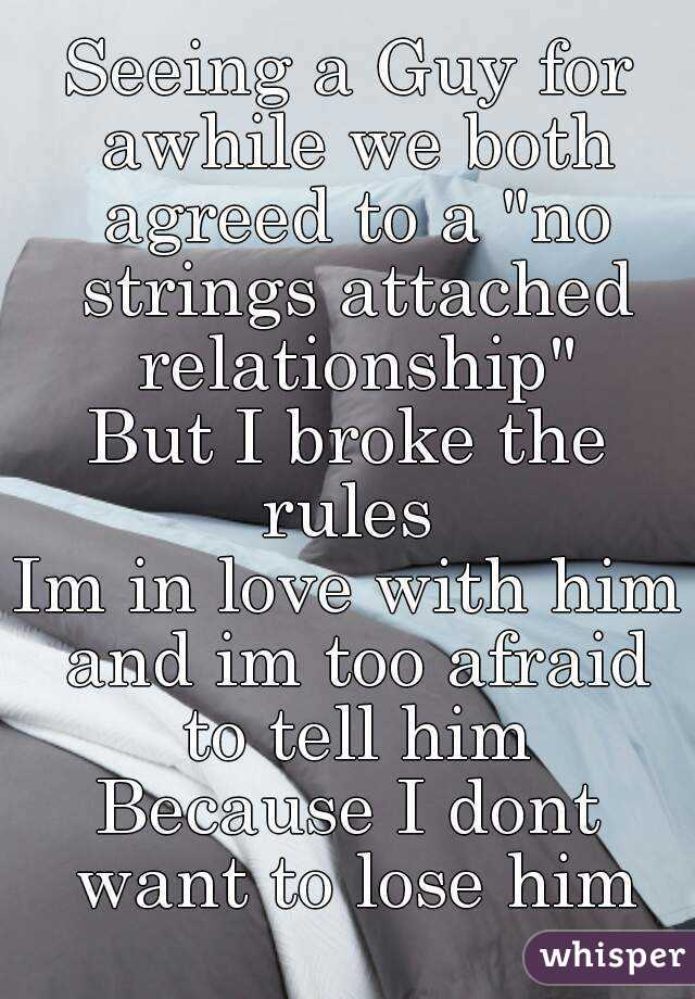 What Is A No Strings Attached Relationship