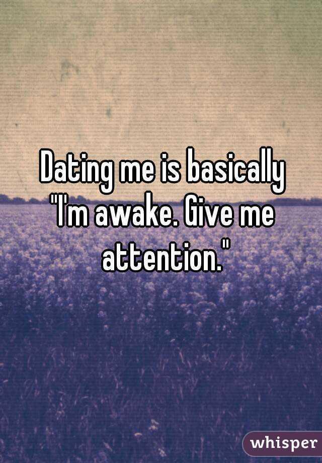 dating awake