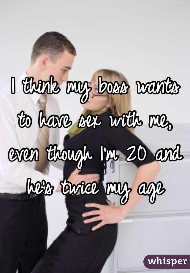 boss wants sex