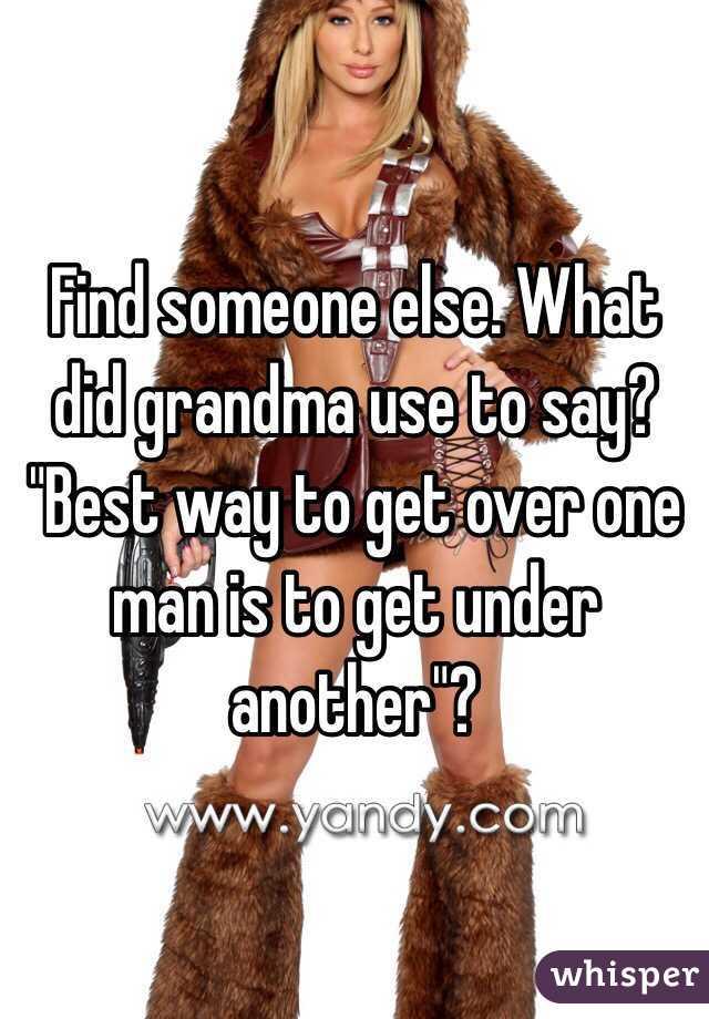 Best way to find a man