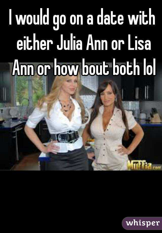 Julia ann dating