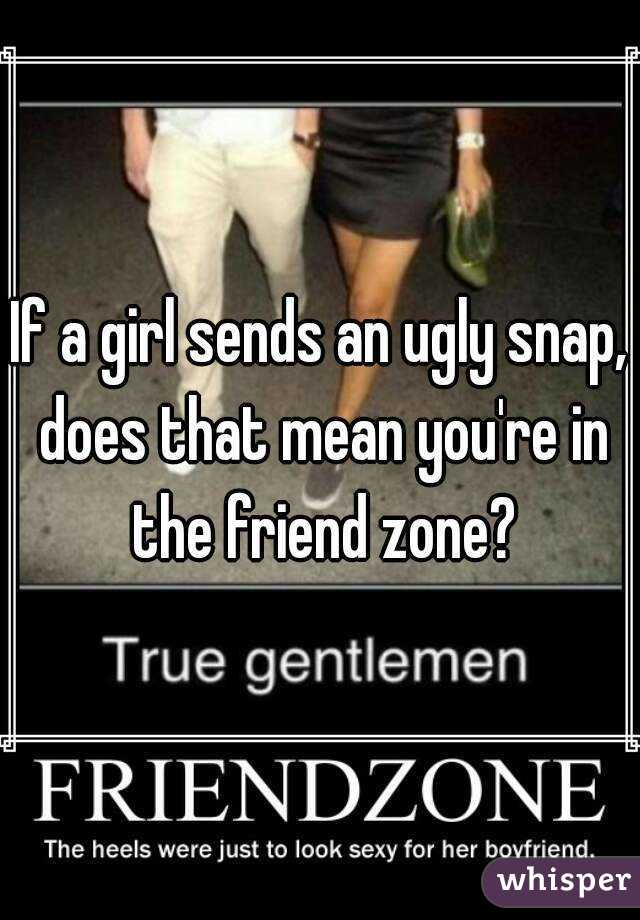 What does friendzoned mean