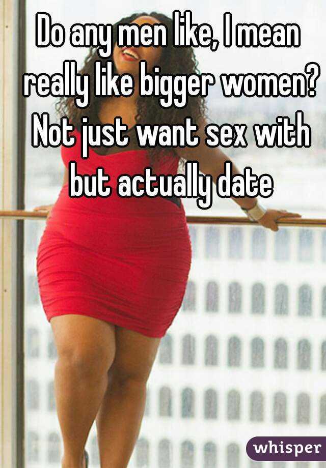 Men who date fat women