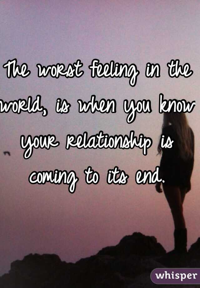 When Do You Know To End A Relationship