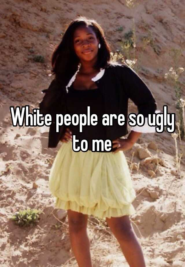 pictures of ugly white people