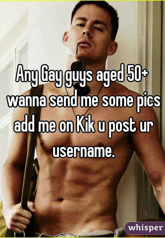 Gay guys kik username