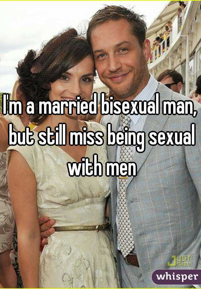 Adult bisexual man