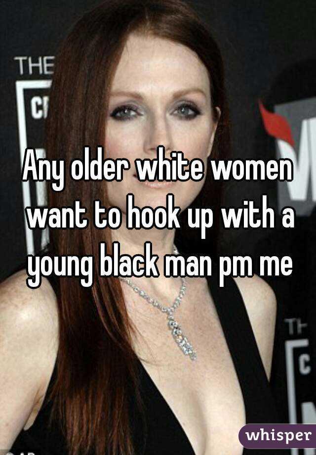 White Woman Hookup A Black Man