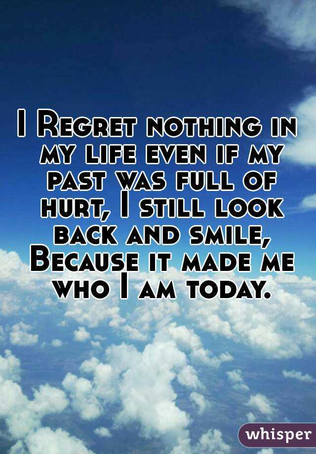 who i was in my past life essay Essay contest: my biggest regret our essay why regret something if there is nothing you can do to change the past it felt like the longest car ride of my life.