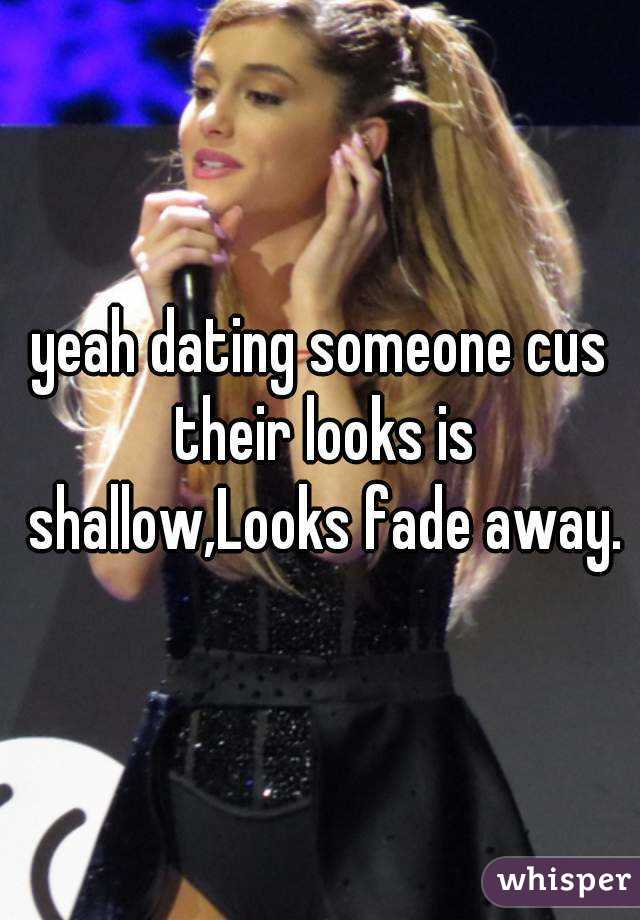 The fade away dating