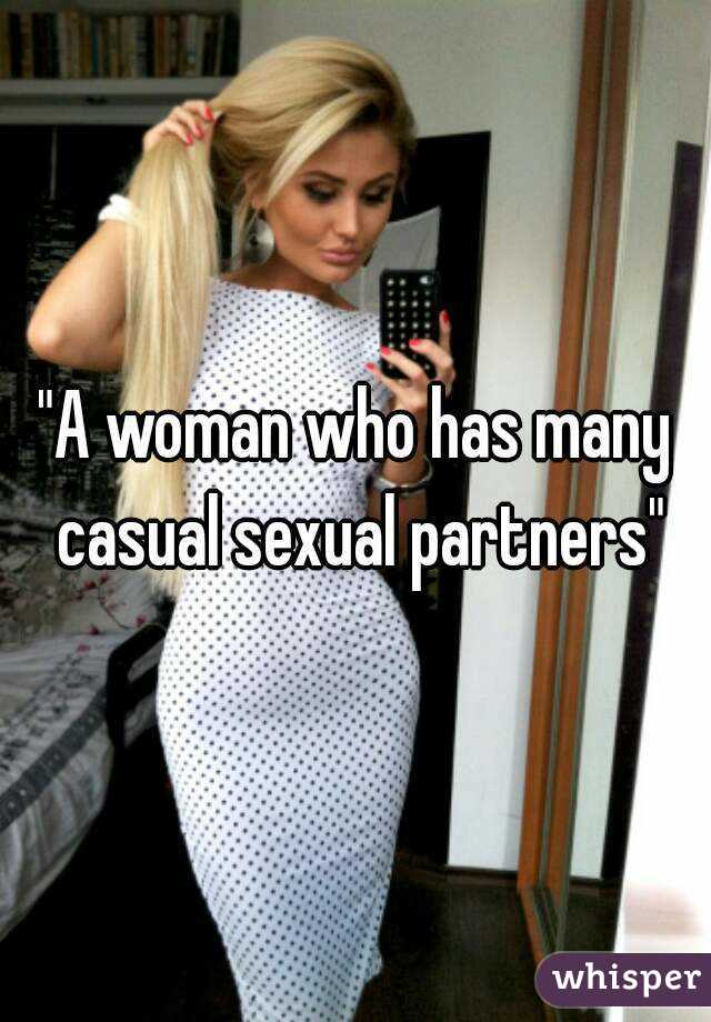 Casual sexual partners