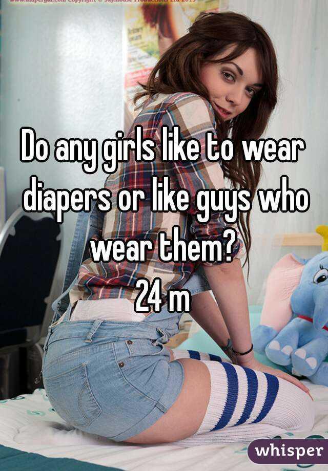 Women Who Like To Wear Diapers